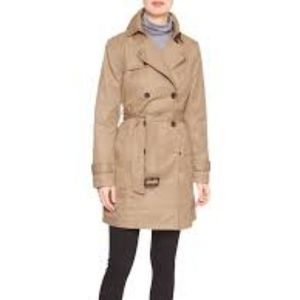 Gap khaki camel trench coat